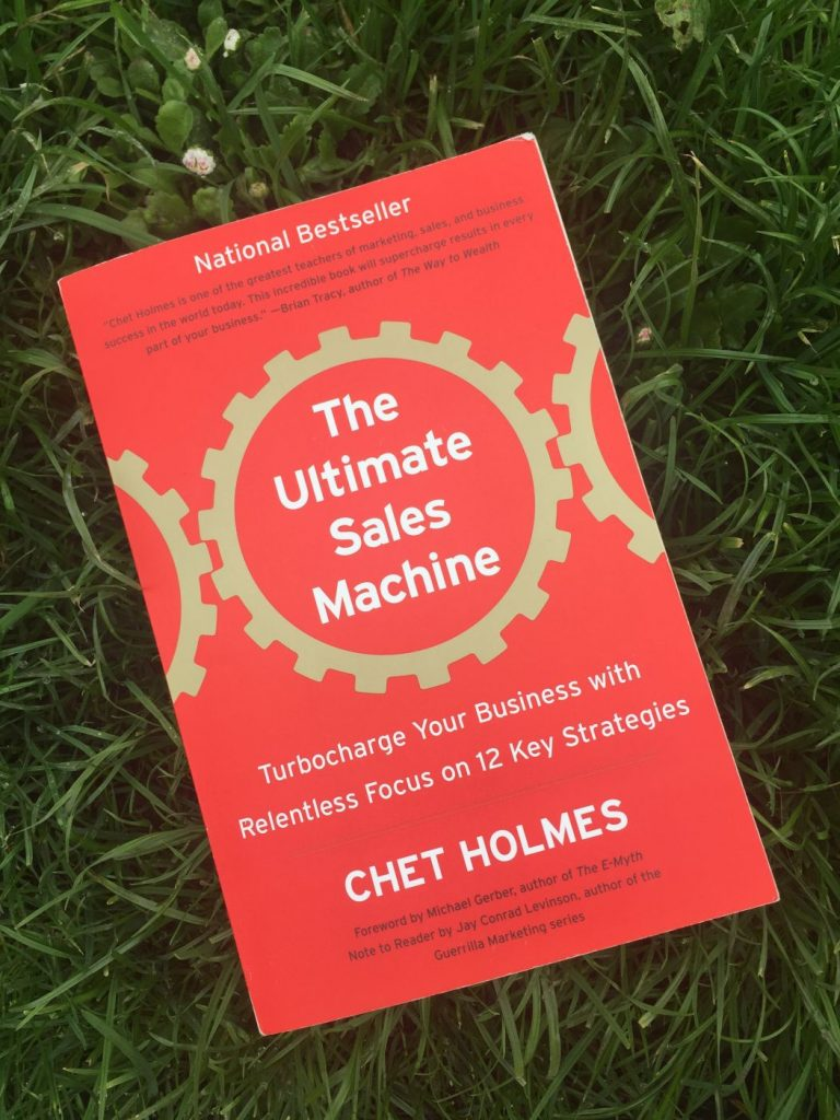 The Ultimate Sales Machine book by Chet Holmes